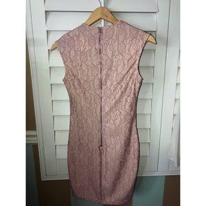 Privately privileged Dresses - Body-con Flirty Flower blush Dress